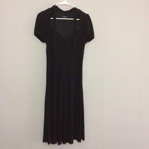 Betsey Johnson Black Dress Size 6